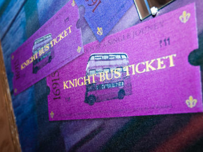 The magic bus and Harry Potter photo 1