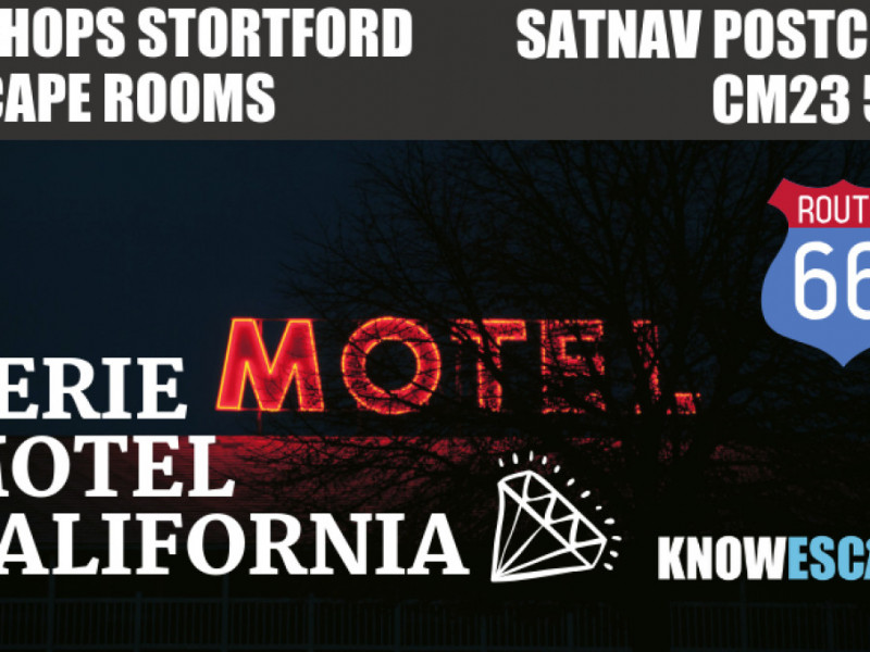 Eerie Motel California photo 1